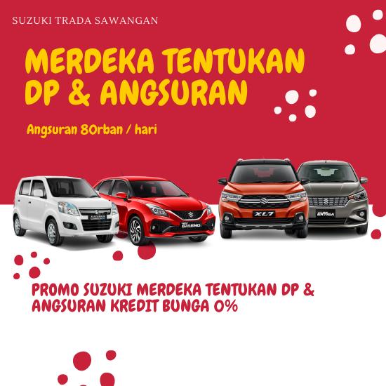 Suzuki Merdeka Tentukan Dp & Angsuran