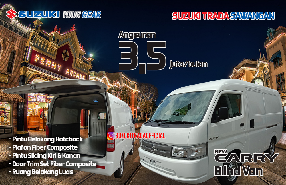 new carry blind van cicilan 3,5 juta