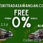 Suzuki Free Ppnbm 0%